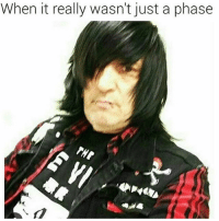 Emo @dad: When it really wasn't just a phase Emo @dad