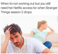 Snapchat: dankmemesgang: When its not working out but you still  need her Netflix access for when Stranger  Things season 2 drops  ecomfy sweaters Snapchat: dankmemesgang