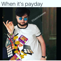 When it's payday  baeeee  @basic Me when that direct deposit hits my account 🍟🍸💄👠👗🍩☕️ payday meme directdeposit funny follow me followforfollow laugh lmao lol sunday money followme