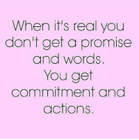 Facts, Girls, and Life: When it's real you  don't get a promise  and words  You get  commitment and Swyd go 👣👣 @poor_lil_rich_girl @poor_lil_rich_girl facts woman women she her inspiration female females lady ladies girls girl quotes quote quoteoftheday life strongwomen strongwoman positive relationship relationships couple couples couplegoals regrann repost followme realshit relationshipgoals