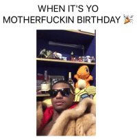 Birthday, Drinking, and Funny: WHEN IT'S YO  MOTHER FUCKIN BIRTHDAY I will drink all the Henny and cath all the pokemon 💀 legendary