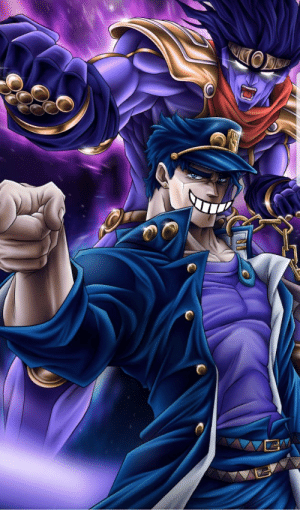 When jotaro realizes that he has an army of weebs who say yarde yarde daxe: When jotaro realizes that he has an army of weebs who say yarde yarde daxe