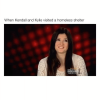 "Memes, 🤖, and Copyright: When Kendall and Kylie visited a homeless shelter  EONLINE.C Comment ""PATS"" latter by letter without getting interrupted 🔥😍 - (Copyrights go to E! Entertainment)"