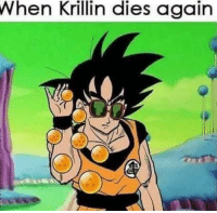 Memes, Krillin, and 🤖: When Krillin dies again Cat Memes For Your Feline Needs