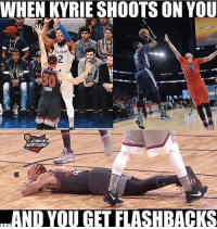 I'm dead. Via: cavsnation-fb Tags: NBA Meme Cavs: WHEN KYRIE SHOOTS ON YOU  L.STAR  AND YOU GET FLASHBACKS I'm dead. Via: cavsnation-fb Tags: NBA Meme Cavs