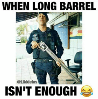 Meme, Memes, and Nintendo: WHEN LONG BARREL  PMOF  @Likklelos  ISN'T ENOUGH Sorry for the lack of posts today ➖ Check Out The Homies! ➖ @bunnyrages ➖ @itsiihades @glizzly_ ➖ @exitz_ @gamersbanter ➖ @mr.aloharice @bloodransom ➖ @xoprettynpinkxo @senseisdarksiders ➖ @lil_twink__ ➖ CoD CallOfDuty VideoGames Nintendo Xbox XboxOne PlayStation PS4 Meme SacredxPhoenix BO3 BlackOps BlackOps3 GamerMeme InfiniteWarfare CoD4 CallOfDuty4 CoDMeme GamingClip Gamer BO3 BlackOps3 VideoGameMeme Gaming Games Game