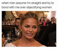 Twitter, Grindr, and Nick: when men assume l'm straight and try to  bond with me over objectifying women  iit Nobody asked for your opinion, Chad. (Twitter | Nick_Avallone)