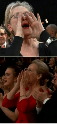 When MERYL STREEP updates her own MEME. #Oscars https://t.co/LNNcmrRF6H: When MERYL STREEP updates her own MEME. #Oscars https://t.co/LNNcmrRF6H