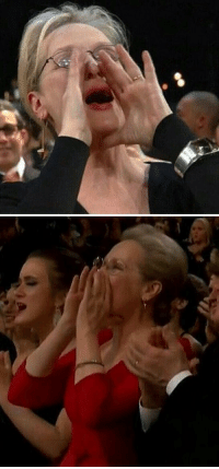 When MERYL STREEP updates her own MEME. #Oscars https://t.co/lVpwERktl6: When MERYL STREEP updates her own MEME. #Oscars https://t.co/lVpwERktl6