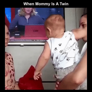 Funny, Memes, and Videos: When Mommy Is A Twin RT @StumblerFunny: For more funny videos follow @StumblerFunny or visit https://t.co/wXxwph26cH https://t.co/eOIAAVqozr