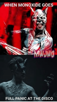 I don't know whyyyy. -Ninjalo: WHEN MONOXIDE GOES  FULL PANIC AT THE DISCO I don't know whyyyy. -Ninjalo