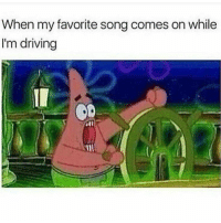 I Bless The Rains Down In Africa: When my favorite song comes on while  I'm driving
