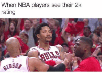 They always disagree 💀😂👀 - Follow @_nbamemes._: When NBA players see their 2k  rating They always disagree 💀😂👀 - Follow @_nbamemes._