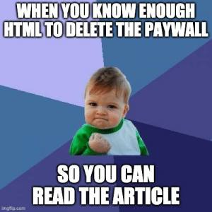 When news websites make the paywall client side: When news websites make the paywall client side
