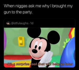 Me at GTA V casinos: When niggas ask me why I brought my  gun to the party.  @stfulaughs 1d  -lt's a surprise tool that will help us later Me at GTA V casinos