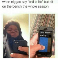 """Ball Is Life, Bitch, and Crazy: when niggas say """"ball is life' but sit  on the bench the whole season  This doesn't  add up. """"Kai, which Tarantino film do you think Logic liked best?"""" """"I would definitely have to probably have to say Kill Bill."""" """"Man, stylistically he's like—what's the name of that bitch? The lead character? I forgot her name, but he's like that bitch—with like some Kung-Fu shit he's like with his raps. It's fucking crazy!"""" """"You know in—in Pulp Fiction I mean—the way Tarantino constructed his shots, it's the same feel for me with his raps you know? There's thought behind it..."""" """"No, I could see that, I could see that but... But nah man, fuck that man! Kill Bill was the shit!! Especially like knives throwing and dodging and shit—and then fucking hot chicks fucking fighting each other and cutting each other's heads off! What the fuck is that?!"""" """"Yea, fuck it you're right, hot chicks and Kung-Fu, can't beat that..."""" """"Yeah, can't beat that at all..."""""""