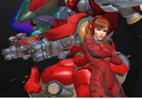when niggas try say d.va isn't an eva reference: when niggas try say d.va isn't an eva reference