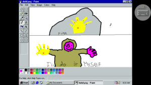 When no one make a painting using Windows 98 for painting week: When no one make a painting using Windows 98 for painting week