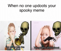 "<p>DOOT DOOT via /r/dank_meme <a href=""http://ift.tt/2xZ9J21"">http://ift.tt/2xZ9J21</a></p>: When no one updoots your  spooky meme  the  You get the shoot shoot <p>DOOT DOOT via /r/dank_meme <a href=""http://ift.tt/2xZ9J21"">http://ift.tt/2xZ9J21</a></p>"