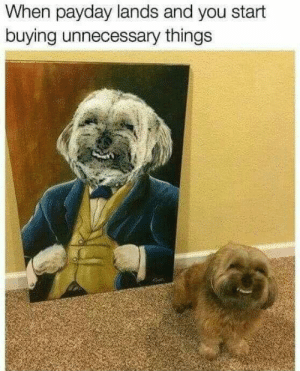 Payday via /r/funny https://ift.tt/2NAYQvB: When payday lands and you start  buying unnecessary things Payday via /r/funny https://ift.tt/2NAYQvB