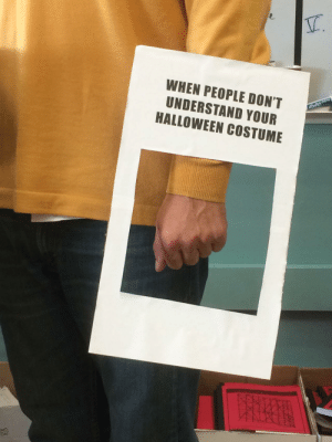Arthur, Funny, and Halloween: WHEN PEOPLE DON'T  UNDERSTAND YOUR  HALLOWEEN COSTUME My teacher was dressed as Arthur via /r/funny https://ift.tt/2JzPxYJ