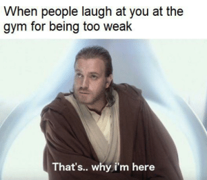So I joined the gym… by HenBluuu MORE MEMES: When people laugh at you at the  gym for being too weak  That's.. why i'm here So I joined the gym… by HenBluuu MORE MEMES