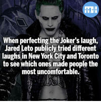 I actually find this genius! - My other IG accounts @factsofflash @yourpoketrivia @webslingerfacts ⠀⠀⠀⠀⠀⠀⠀⠀⠀⠀⠀⠀⠀⠀⠀⠀⠀⠀⠀⠀⠀⠀⠀⠀⠀⠀⠀⠀⠀⠀⠀⠀⠀⠀⠀⠀ ⠀⠀--------------------- batmanvssuperman xmen batman superman wonderwoman deadpool spiderman hulk thor ironman marvel bluelantern theflash wolverine daredevil aquaman justiceleague homecoming blackpanther wallywest starwars thejoker avengers jaredleto zacksnyder professorzoom adamwest like4like injustice2: When perfecting the Joker's laugh,  Jared Leto publicly tried different  laughs in New York City and Toronto  to see which ones made people the  most uncomfortable.  JAL I actually find this genius! - My other IG accounts @factsofflash @yourpoketrivia @webslingerfacts ⠀⠀⠀⠀⠀⠀⠀⠀⠀⠀⠀⠀⠀⠀⠀⠀⠀⠀⠀⠀⠀⠀⠀⠀⠀⠀⠀⠀⠀⠀⠀⠀⠀⠀⠀⠀ ⠀⠀--------------------- batmanvssuperman xmen batman superman wonderwoman deadpool spiderman hulk thor ironman marvel bluelantern theflash wolverine daredevil aquaman justiceleague homecoming blackpanther wallywest starwars thejoker avengers jaredleto zacksnyder professorzoom adamwest like4like injustice2