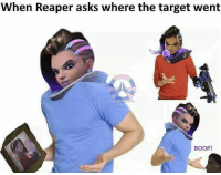 ⚠Credits to the original artist⚠ sombra blizzard blizzcon genji tracer reaper phara mccree torbjörn hanzo mei widowmaker bastion winston dva reinhardt roadhog ana zenyatta mercy lúcio: When Reaper asks where the target went  BOOP! ⚠Credits to the original artist⚠ sombra blizzard blizzcon genji tracer reaper phara mccree torbjörn hanzo mei widowmaker bastion winston dva reinhardt roadhog ana zenyatta mercy lúcio