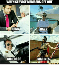 Like & share @ifunny.co . . . . . lol fun humor ifunny hilarious funnyshit joke funny meme funnymemes funny dankmemes comedy hoodjokes: WHEN SERVICEMEMBERS GET OUT  ARMY  AIR FORCE  MARINES  funny  CO Like & share @ifunny.co . . . . . lol fun humor ifunny hilarious funnyshit joke funny meme funnymemes funny dankmemes comedy hoodjokes