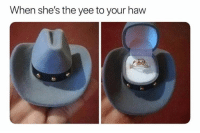 Yee, Shes, and Haw: When she's the yee to your haw