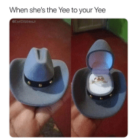 yee: When she's the Yee to your Yee  @EarlDibblesJr