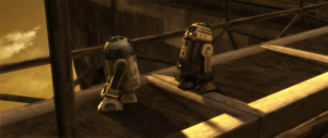 """When somebody ask me which one is my favorite star wars battle (Clone Wars - Season 1, Episode 7 - """"Duel of the Droids""""): When somebody ask me which one is my favorite star wars battle (Clone Wars - Season 1, Episode 7 - """"Duel of the Droids"""")"""