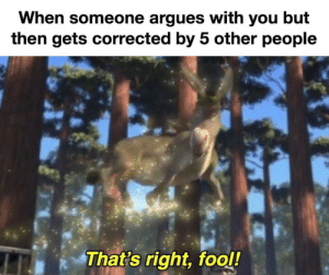 You'd be a fool to not invest! via /r/MemeEconomy http://bit.ly/2X8iGmM: When someone argues with you but  then gets corrected by 5 other people  That's right, fool! You'd be a fool to not invest! via /r/MemeEconomy http://bit.ly/2X8iGmM