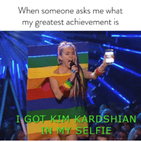 I can now die happy. Check out the @VMAs tonight at 9-8c on @MTV.: When someone asks me what  my greatest achievement is  ARDSHIAN  N MY SELFIE I can now die happy. Check out the @VMAs tonight at 9-8c on @MTV.