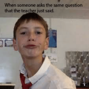 When Someone Asks