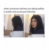 Awkward, Girl, and Public: when someone catches you taking selfies  in public and you're just there like Excuse me? 🤳🏽 awkward