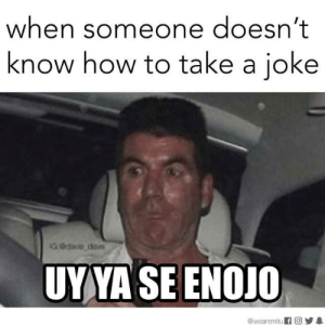dopl3r.com - Memes - When someone doesn't know how to take a joke ...: when someone doesn't  know how to take a joke  AGOda dv  UYYA SEENOJO  wearemitu fO dopl3r.com - Memes - When someone doesn't know how to take a joke ...
