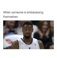 Memes, Omg, and 🤖: When someone is embarassing  themselves OMG