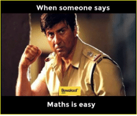 Seriously!: When someone says  Bewakoof  Maths is easy Seriously!