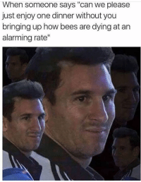 thumb_when someone says can we please just enjoy one dinner 4732243 25 best bees are dying at an alarming rate memes are memes, its