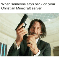"""<p>New template via /r/memes <a href=""""http://ift.tt/2Dp0IT9"""">http://ift.tt/2Dp0IT9</a></p>: When someone says heck on your  Christian Minecraft server <p>New template via /r/memes <a href=""""http://ift.tt/2Dp0IT9"""">http://ift.tt/2Dp0IT9</a></p>"""