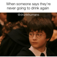 """When someone says they're  never going to drink again  drunkhumans Yeah ok, good luck with your """"detox"""" that will last a day. drunk drunkhumans detox cleanse hungover"""