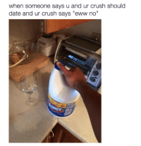 """<p>It leaves a bad taste in your mouth. (via /r/BlackPeopleTwitter)</p>: when someone says u and ur crush should  date and ur crush says """"eww no"""" <p>It leaves a bad taste in your mouth. (via /r/BlackPeopleTwitter)</p>"""