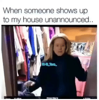 My House, House, and Dank Memes: When someone shows up  to my house unannounced.  Hoarder Caught @_taxo_ nappin 😂 Go follow @_taxo_ for more 🔥