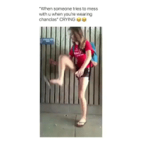 "Crying, Dank, and Memes: ""When someone tries to mess  with u when you're wearing  chanclas"" CRYING My mothers weapon of choice   (contact us at partner@memes.com for credit/removal)"