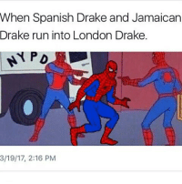 Trendy, Ice, and Top: When Spanish Drake and Jamaican  Drake run into London Drake.  3/19/17, 2:16 PM Sacrifices, Cant Have Everything, Ice Melts. Top 3. Kinda idk @staggering • ➫➫➫ Follow @Staggering for more funny posts daily!