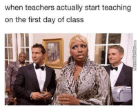 I hate it when this happens.: when teachers actually start teaching  on the first day of class I hate it when this happens.