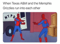 They both got killed off😂 nba nbamemes memphis texasam: When Texas A&M and the Memphis  Grizzlies run into each other  P D They both got killed off😂 nba nbamemes memphis texasam