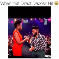 Funny, Lit, and They: When that Direct Deposit Hit Lmfaoooo they too lit betawards