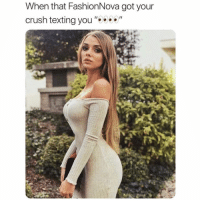 "When @FashionNova has slaying on that post-breakup glow 😍 30% OFF Code: SARCASM30 Link in Bio: When that FashionNova got your  crush texting you ""9"" When @FashionNova has slaying on that post-breakup glow 😍 30% OFF Code: SARCASM30 Link in Bio"